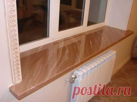 ОТКОСЫ И ПОДОКОННИКИ - украшают ваше окно (фото)