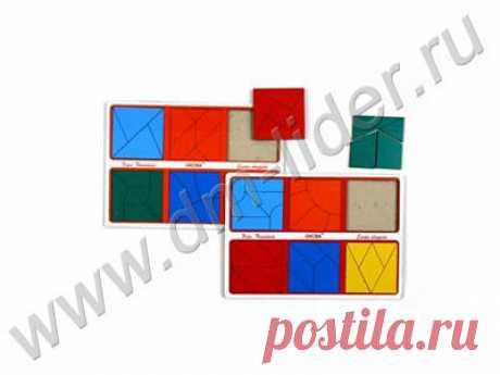 «Сложи квадрат» 3 кат.сложности, методика Никитина