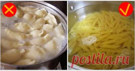 Самые распространенные кулинарные ошибки, от которых следует немедленно избавиться! Мы собрали для Вас наиболее распространенные ошибки, которые многие допускают на кухне!