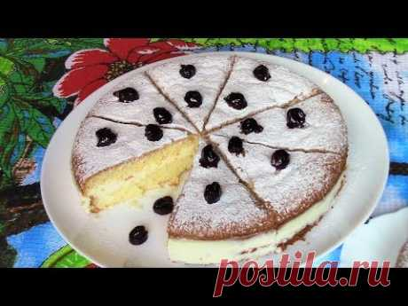 Бисквитный пирог с Панна Коттой. Как приготвить бисквит.