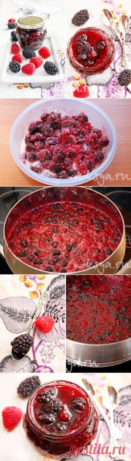 Ежевично-малиновое варенье   Самый вкусный портал Рунета