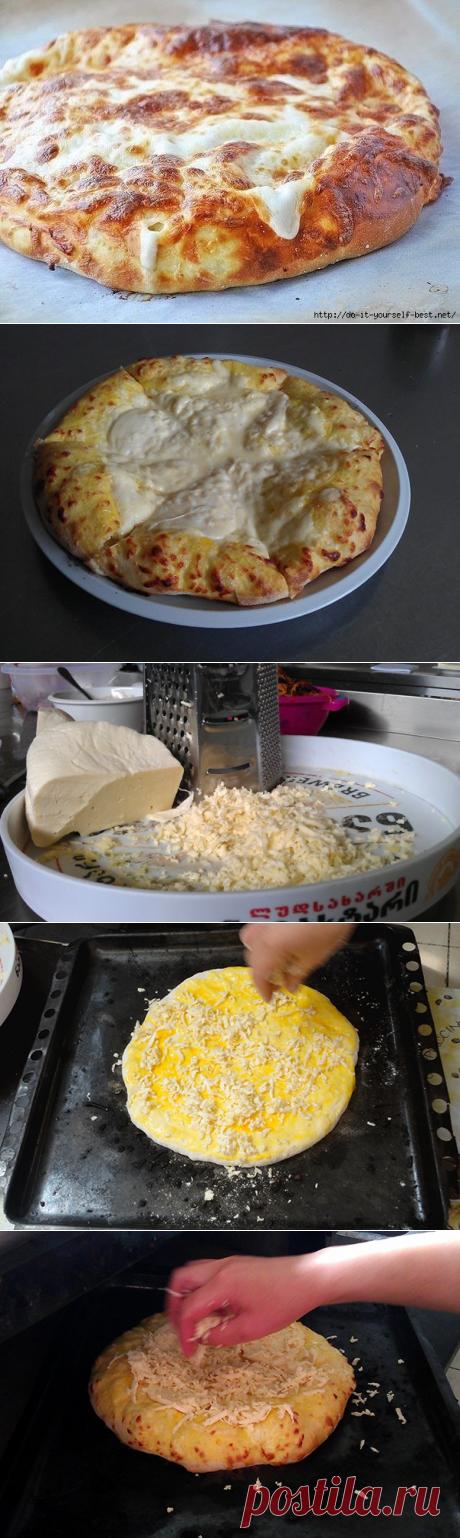 Мегрельские хачапури | Четыре вкуса