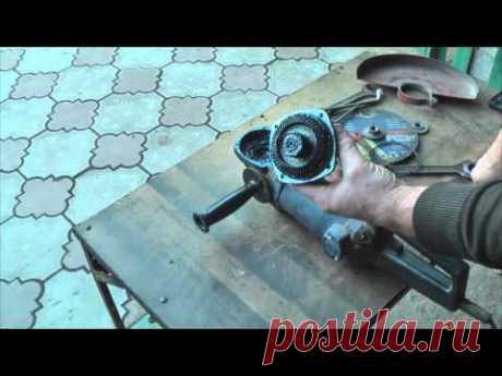 Que y como untar a la búlgara. La lubricación para el trabajo eterno angular shlif - la máquina.