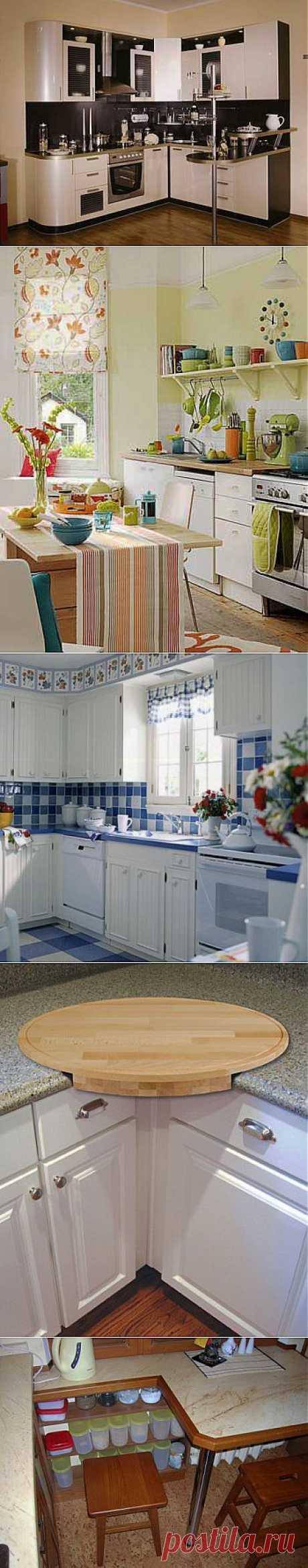 Дизайн маленькой кухни | Дамская копилка