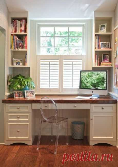 Sep 4, 2019- Одна из моих любимых тем: Мебель под окном: индивидуальный подход Мебель у окна