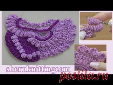 How to Freeform Crochet Tutorial 24 Comment faire du crochet Freeform