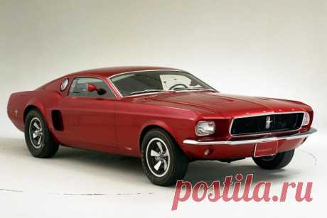 '68 Ford Mustang Mach I Concept