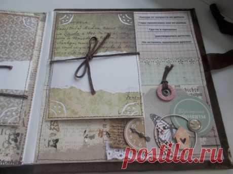 Альбом - Алтай 2014 - Скрапбукинг (бумажный) - Babyblog.ru