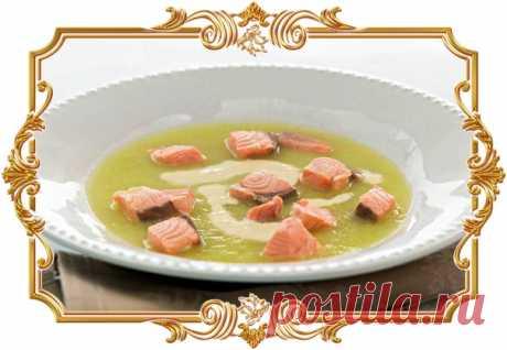 Суп из семги с чесночным кремом  Сложность приготовления: Средняя. Время приготовления: 1 ч 40 мин Количество порций: 4. Показать полностью…