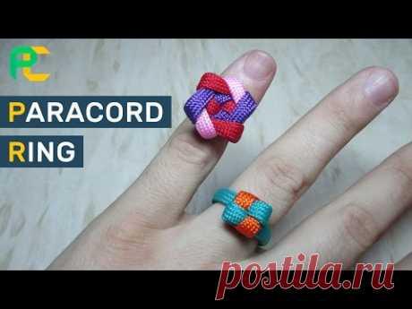 Как сделать кольцо из паракорда