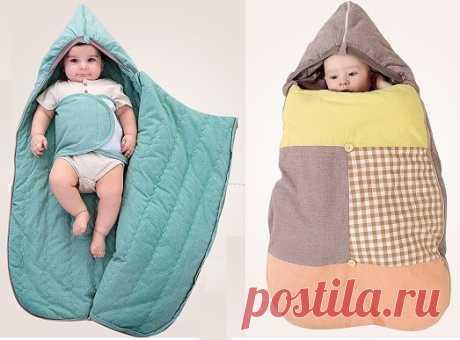 Спальный мешок для малыша. Выкройка (Шитье и крой) – Журнал Вдохновение Рукодельницы