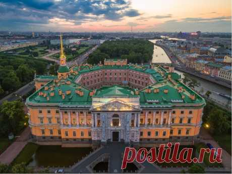 Санкт-Петербург. Михайловский замок.