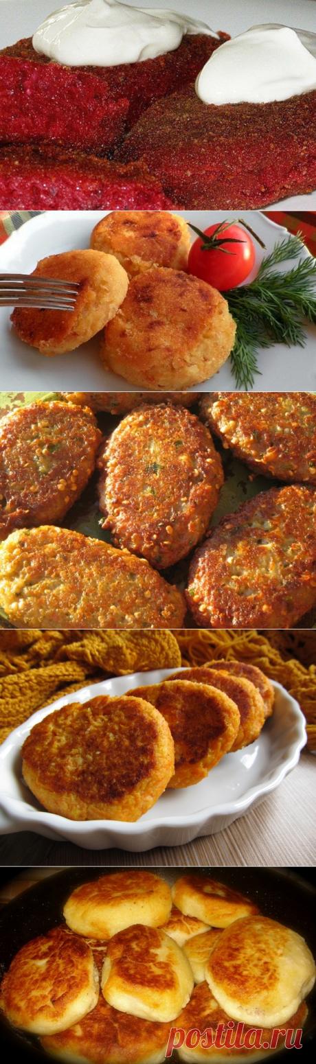 5 рецептов аппетитных котлет без мяса — Вкусные рецепты