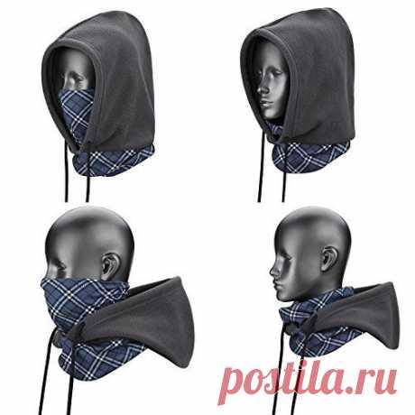 Выкройка капюшона - балаклавы из флиса Модная одежда и дизайн интерьера своими руками