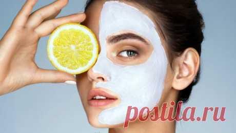 Эффект ботокса и пилинг с помощью одного лимона. | Красоткам | Яндекс Дзен