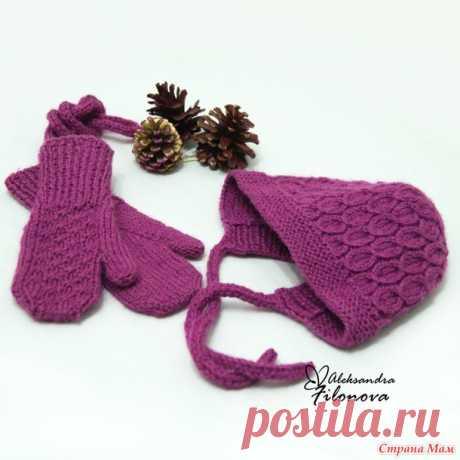 Варежки детские со шнурком - Вязание - Страна Мам