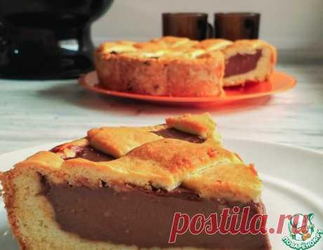 Пирог с шоколадной начинкой – кулинарный рецепт