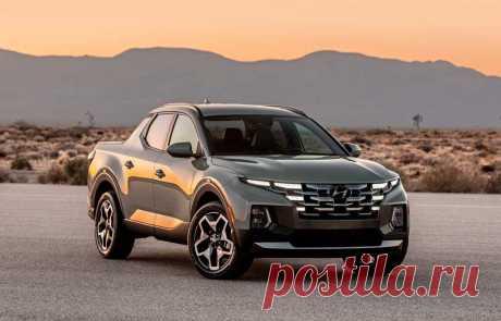 Пикап Hyundai Santa Cruz 2022: интерьер, двигатели, габариты
