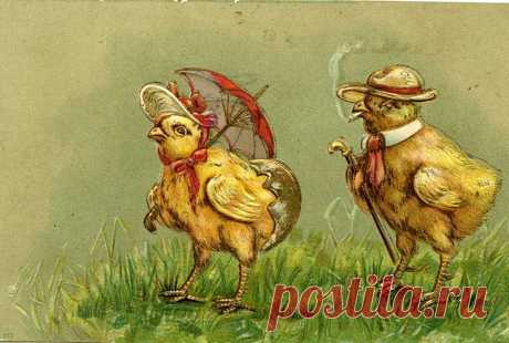 """Cards congratulations by Easter, the Easter Sunday - the Orthodox magazine """"Фома"""""""