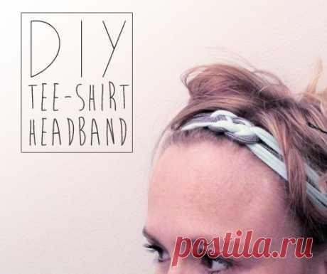 Повязка из футболок (Diy)