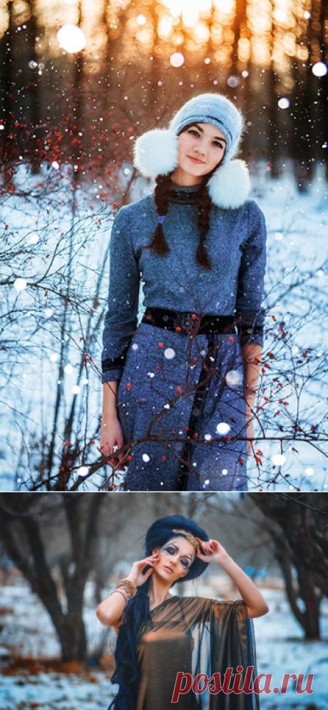 Закрытый мастер-класс по обработке зимних фотографий