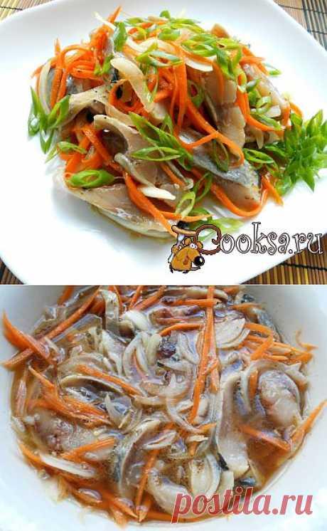 Сельдь по-корейски рецепт с фото