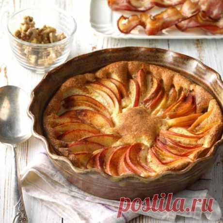 👌 Интересный и лёгкий завтрак - сладкий омлет с яблоком, рецепты с фото Может показаться, что этот омлет выглядит как праздничное блюдо, но его можно совершенно спокойно готовить чуть ли не каждый день на завтрак. Благо, готовится он довольно легко. На...