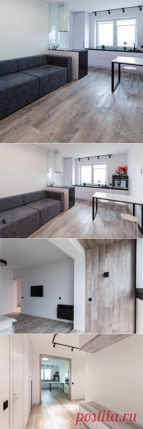 Виниловые полы Moduleo в интерьере квартиры в Гродно
