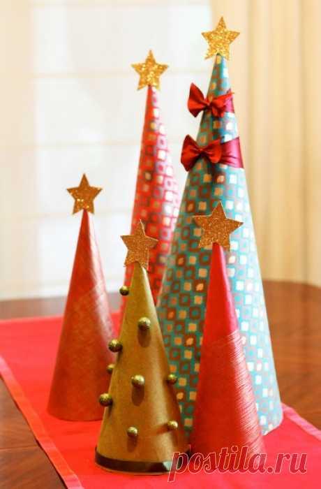 Идеи простых и красивых новогодних поделок с детьми!