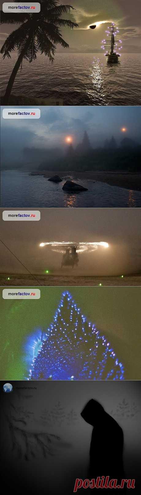 Огни святого Эльма или холодный огонь - уникальный природный феномен - Море Фактов