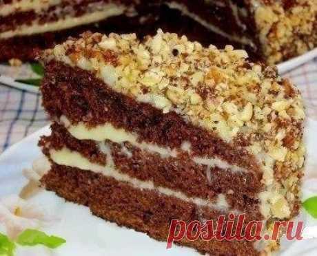 Как приготовить шоколадный торт на кефире «фантастика» - рецепт, ингредиенты и фотографии