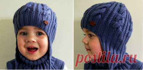 Как связать детскую шапку для мальчика спицами на осень, весну, зиму? Вязаная шапка спицами для мальчика бини, чулок, для подростка: схема вязания