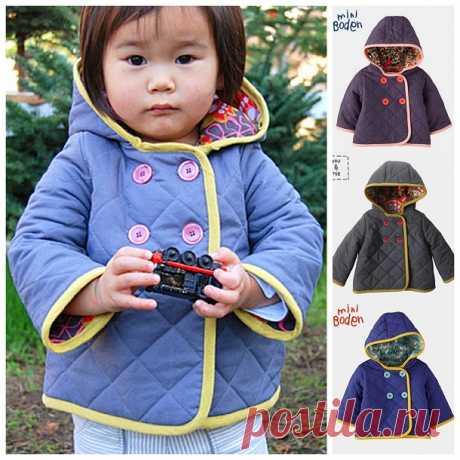 Как сшить детскую стеганую куртку своими руками. Мастер-класс