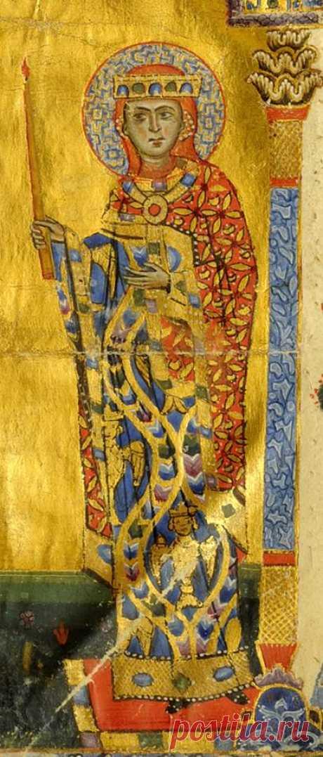 Կեռանը՝ ապագայ Հայոց թագուհին նշանադրութեան ժամանակ  (1262 թ., Աւետարան, Ծաղկող՝ Թորոս Ռոսլին, Կոնստանդին Ա. կաթողիկոսի պատուէրով թագաժառանգ Լեւոն Բ.-ի ամուսնութեան առթիւ, Երուսաղէմի Հայոց պատրիարքարան, ձեռ. թիւ 2660, թ. 288)։ Կեռանի ծննդյան ամսաթիվն անհայտ է: Նա ծնվել է լամբրոնական իշխան Հեթում Դ-ի և նրա կնոջ ընտանիքում, որի անունը մինչև մեր օրերը չի հասել: Ծագել է Հեթումյանների տոհմից, որոնք Լամբրոնի տիրակալներն էին: