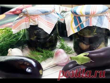 Баклажаны жареные с чесноком и зеленью на зиму. Рецепт баклажанов с чесноком на зиму