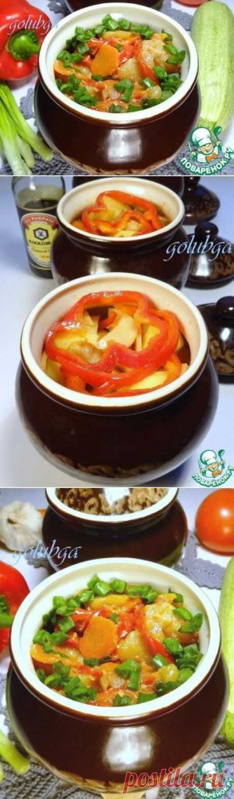 Картофель в горшочках - кулинарный рецепт