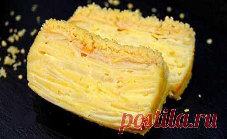 Видите тесто? При выпечке оно превращается в крем! Пирог Невидимка с яблоками и грушами Классический французский пирог «Невидимый», в котором максимальное количество начинки и совсем масло теста.