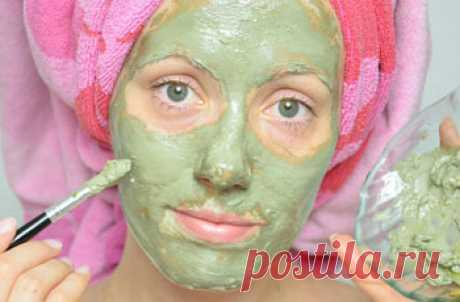 Face packs from spots, eels, black points, house recipes: Care of skin