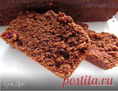 Постный шоколадный манник с клюквой, пошаговый рецепт, фото, ингредиенты - ♥ОЛЯ :)♥