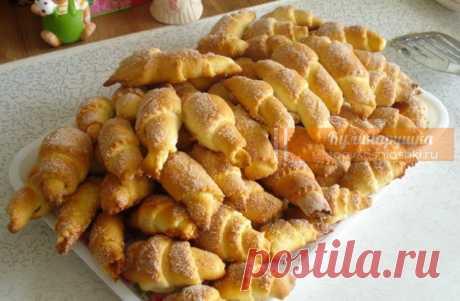 Рогалики по бабушкиному рецепту. Нежные и очень вкусные Рогалики получаются нежные и очень вкусные.