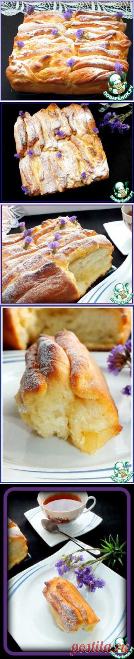 Пирог-гармошка - кулинарный рецепт