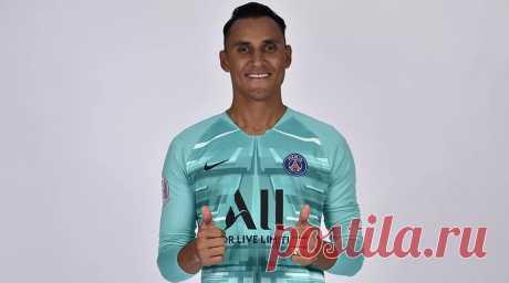 Кейлор Навас, вратарь парижского футбольного клуба ПСЖ