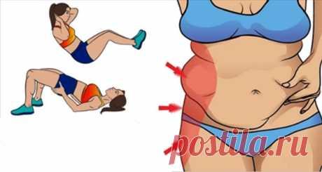 5 Упражнений, чтобы убрать ненавистные бока 5 упражнений, которые помогут вам уменьшить жир быстрее, чем вы думали.
