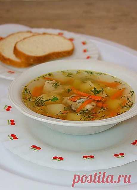 Рецепт быстрого супа с рыбными консервами - Быстрые супы . 1001 ЕДА вкусные рецепты с фото!