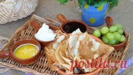 Блины без яиц на воде - пошаговый рецепт с фото на Повар.ру