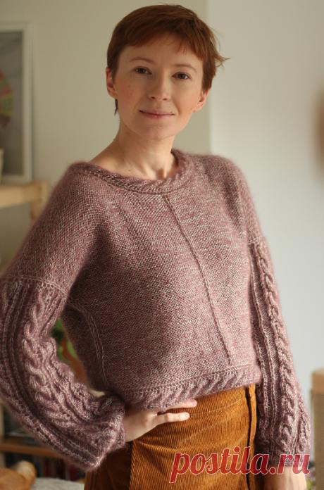 Вязаный пуловер Rosematic | ДОМОСЕДКА