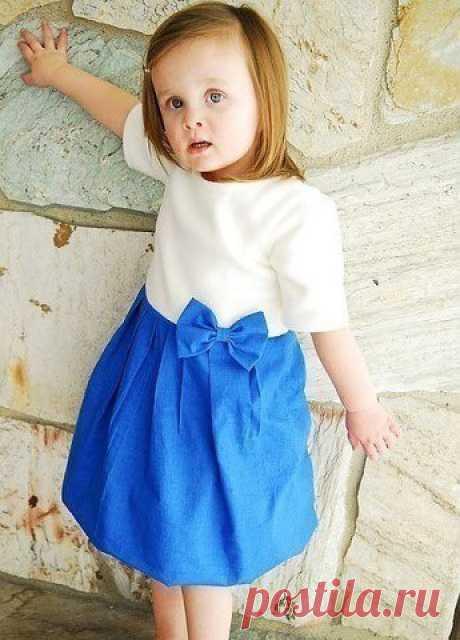Платье для дочери (diy)