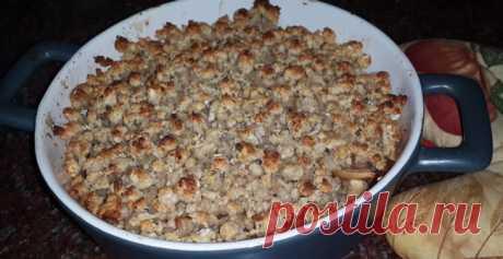 Яблочный крамбл (диетический) Яблочный крамбл - вкуснейший осенний десерт из яблок и творога. Приготовить диетический яблочный крамбл очень просто!