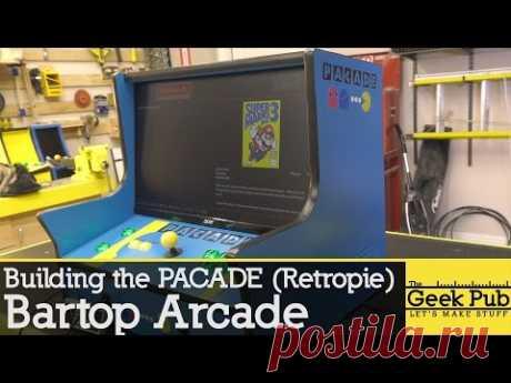 Pacade RetroPie Bartop Arcade Cabinet Build