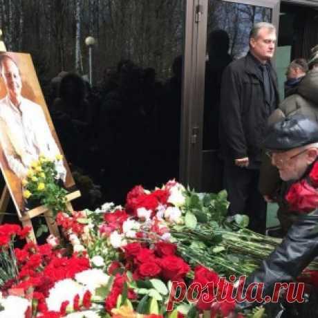 С Михаилом Задорновым простились в Подмосковье
